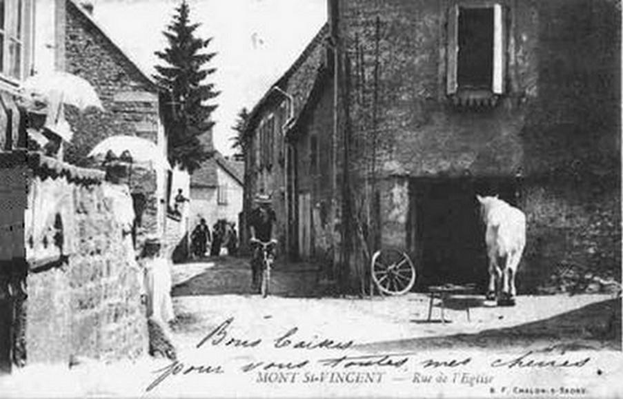cartes-postales-Rue-de-l-Eglise-MONT-ST-VINCENT-71300-71-71320005-maxi